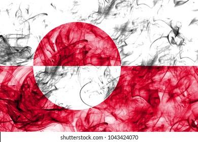Greenland smoke flag, Denmark dependent territory flag