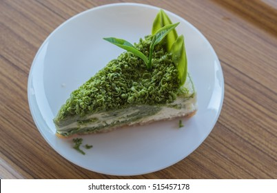 Greentea matcha  cheesecake