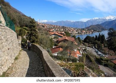 Greenway trail of Lake Como - Colonno