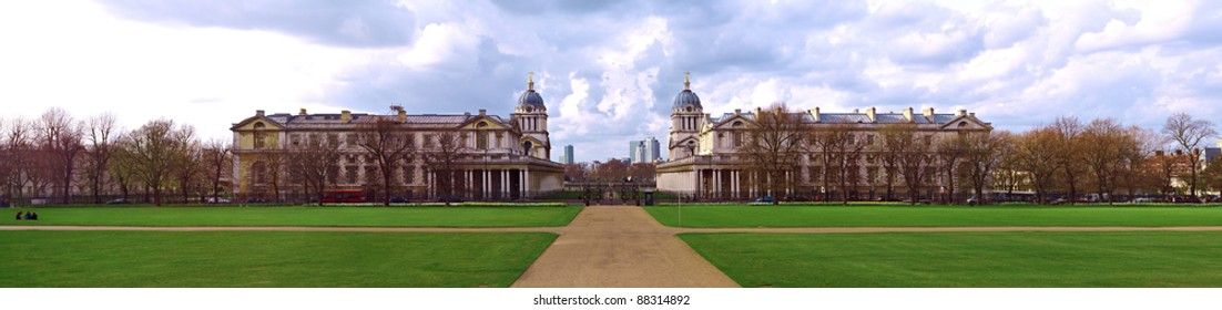 Greenwich Panoramic View