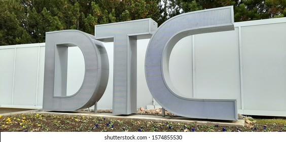 Greenwood Village, Colorado - November 19, 2019: DTC, The Denver Tech Center, is a business and economic trading center located in in the southeastern portion of the Denver Metropolitan Area