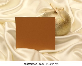 Greeting card and decoration for christmas and new year