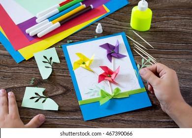 Handmade Greeting Card Images Stock Photos Vectors Shutterstock