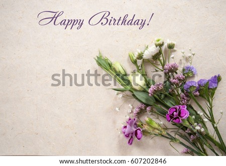 Greeting Card Sample Text Happy Birthday Stock Photo Edit Now