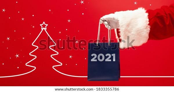 Ad Christmas 2021 Greeting Flyer Ad Concept Christmas 2021 Stock Photo Edit Now 1833355786