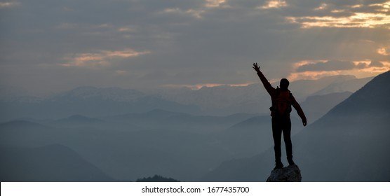 Greeting the New Day at the Summit
