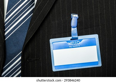 Greeting, Tradeshow, Name Tag.