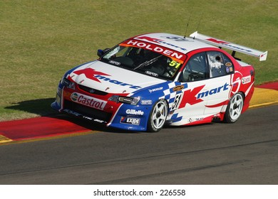 Greg Murphy, one of the top runners in the Australian V8 touring car circuit...