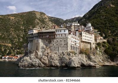 Gregoriou monastery, Mount Athos, Greece