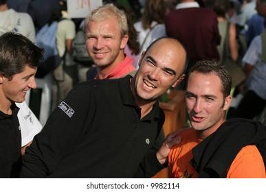 Gregory Havret  Open de Madrid 2005, Cub de campo
