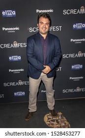 """Gregory M. Schroeder attends 19th Annual Horror Film Festival – ScreamFest - Opening Night """"Eat, Brains, Love"""" Los Angeles Premiere at TLC Chinese Theatre, Hollywood, CA on October 8, 2019"""