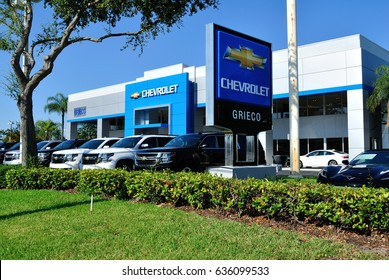 Greico Chevrolet Fort Lauderdale Florida May 2017.  Chevrolet is a division of General Motors