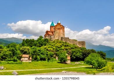 Gremi 16-th century Orthodox church in Kakheti, Georgia