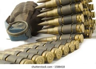 Grenade and Bullet Belt