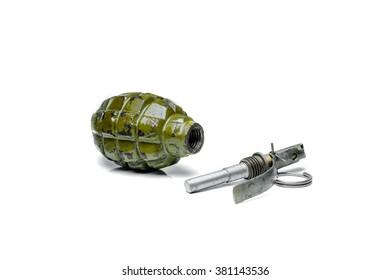 Grenade F1 explosion   grenade body heaves