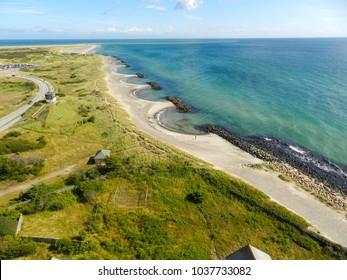Grenen, Skagen. This is the most northerly point of Denmark and the land of shifting sands