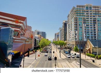 Grenfell Street, Adelaide , Australia, November 2017