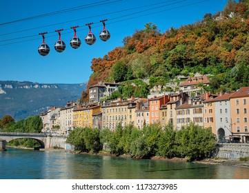 Grenoble Bastille Cable Car