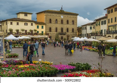 Greve in Chianti Italy 3 May 2014 Greve in Chianti is a town located in the Chianti wine district of Tuscany Italy