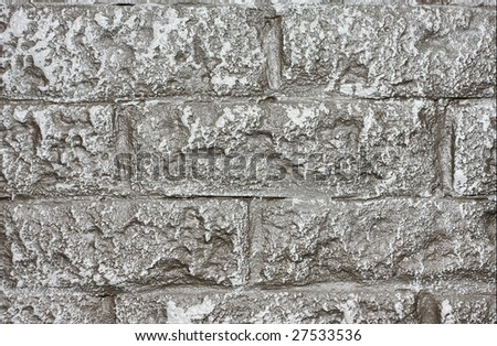 Grey Aged Brickwall Concept Background Stock Photo Edit Now