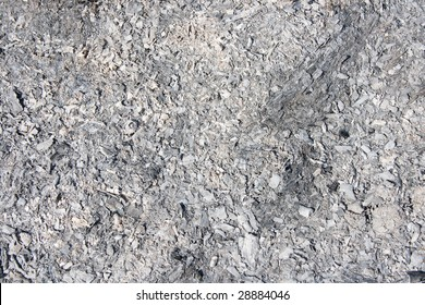 grey ashes or charcoal background