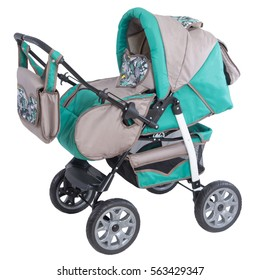 grey baby carriage