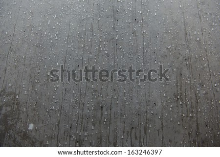 Grey background whit water
