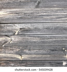 Grey Barn Wooden Wall Planking Rectangle Texture. Old Solid Wood Slats Rustic Shabby Gray Background. Hardwood Dark Weathered Square Surface. Grungy Faded Timber Wood Boarded Frame Structure, Close Up