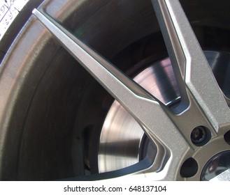 Grey beautiful rim