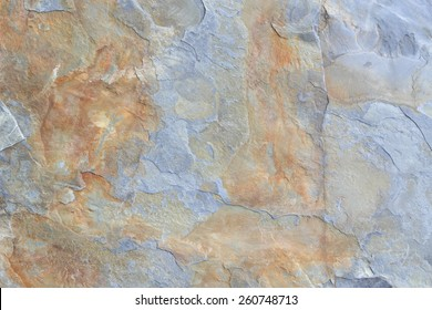 Grey and brown block of shale stone texture