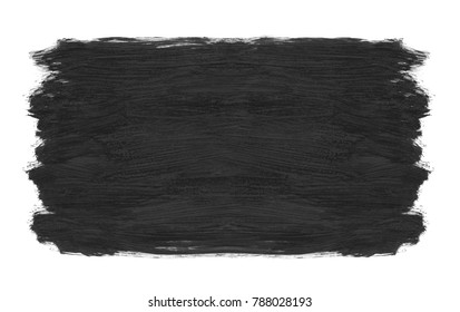 Grey brush stroke texture isolated on a white background
