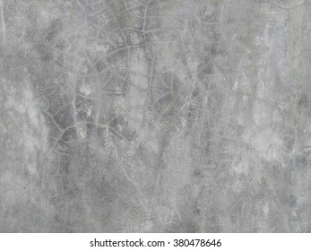 Grey cement or concrete wall texture, loft background