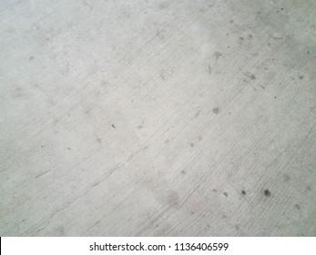 grey cement floor