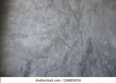 Grey color concrete wall floor texture, loft interior design, minimalism concept