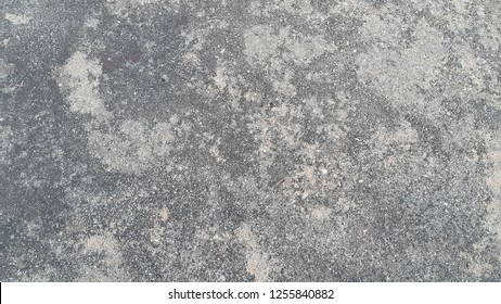 Grey color floor abstract background: polished concrete plaster wall striped pattern texture gray color, polishing loft style raw cement, wallpaper art template concept with space for text or image