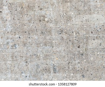 Grey concrete wall texture detail