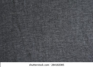 Grey Cotton T-shirt Texture