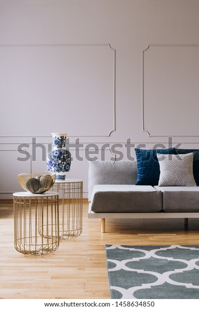Miraculous Grey Couch Pillows Bright Living Room Stock Photo Edit Now Unemploymentrelief Wooden Chair Designs For Living Room Unemploymentrelieforg