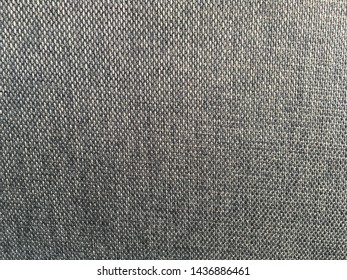 Grey fabric surface texture for background design