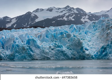 Grey Glacier in Torres del Paine National Park, Chilean Patagonia
