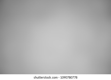 Grey gradient abstract blurred background.