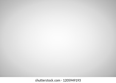 Grey gradient blurred abstract studio background
