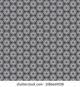 grey honeycombed pattern