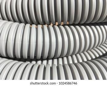 Grey hose industrial