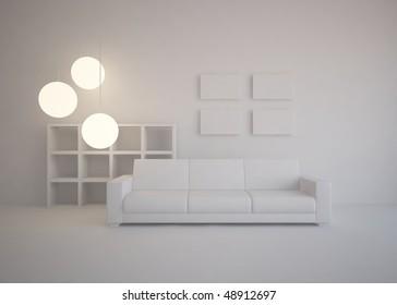 grey interior concept
