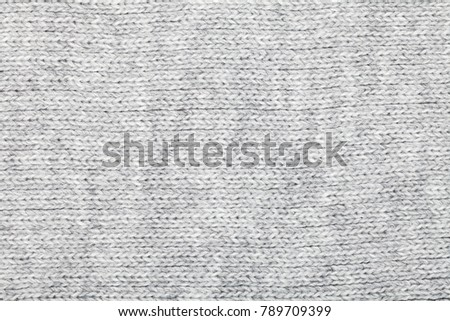 1fb3f1f0a51 Grey Knitted Fabric Made Heathered Yarn Stock Photo (Edit Now ...