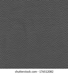 grey leather texture as background