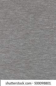 Grey melange knitwear fabric texture background