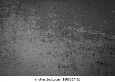 Grey old grunge metal wall background, steel texture