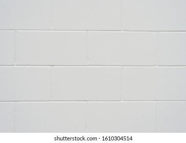 Grey painted cinderblock wall background